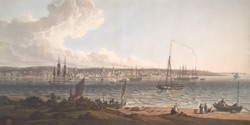 A View of the Town and Harbour of Liverpool